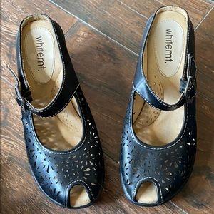 Black Sandal Mules